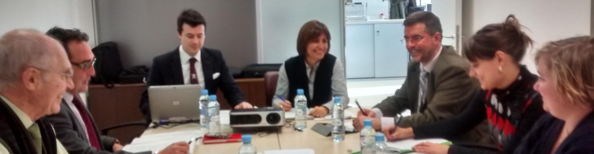 Reunión ACPUA-Unibasq en Zaragoza